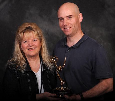 Nancy Bidwell and Justin Freeman Emmy June 2011